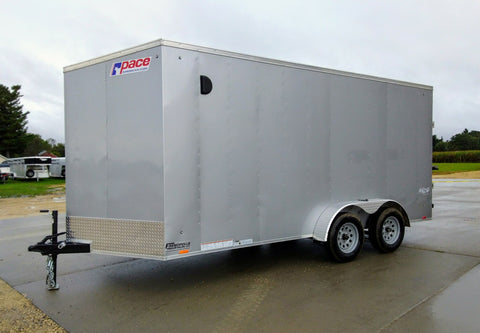 2020 Pace American 7 x 16 x 7 Enclosed Trailer-Unit 58085