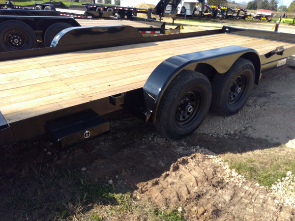 2020 Big Tex 10CH 20' Car Hauler Trailer- Unit 44493