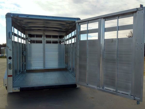 2020 Sundowner 16' Aluminum Livestock Trailer- Unit B8519