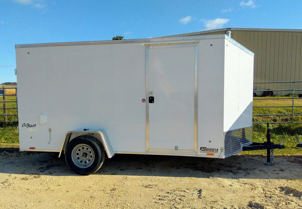 2020 Pace American 6 x 12 Enclosed Trailer - Unit 58791