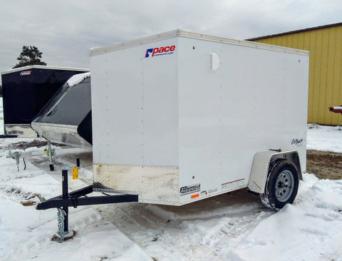 2020 Pace American 5 x 8 Enclosed Trailer - Unit 58793