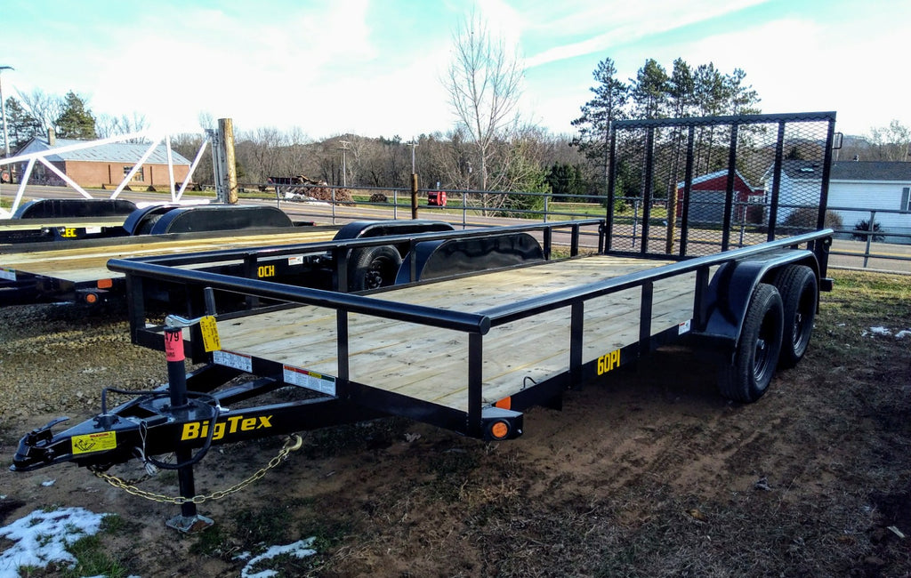 2020 Big Tex 60PI Tandem Axle Utility Trailer - Unit 56479