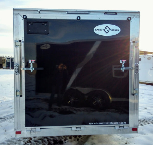2020 Sport Haven 27' V-Nose Sport Aluminum Snow Trailer- Unit 09877