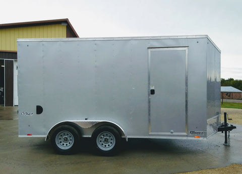 2020 Pace American 7 x 14 x 7 Enclosed Trailer-Unit 58084