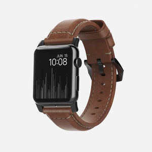 美國 Nomad Classic Traditional Strap For Apple Watch 專用真皮錶帶