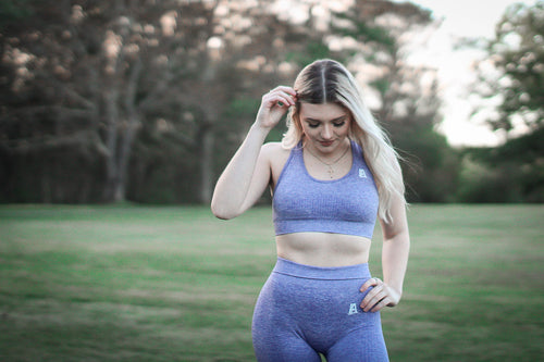 Seamless High Rise Sports Bra