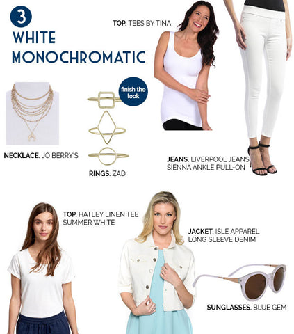 White Monochromatic