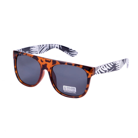 Blue Gem Sunglasses Assorted Colors w/Smoke Lens