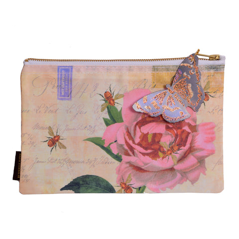 Tokyomilk Rose With Bees Cosmetic Bag