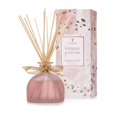 Thymes Goldleaf Gardenia Aromatic Diffuser 6.5oz