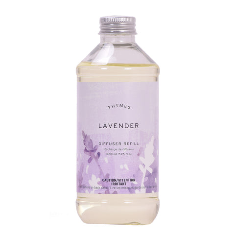 Thymes Lavender Aromatic Diffuser Refill 7.75oz