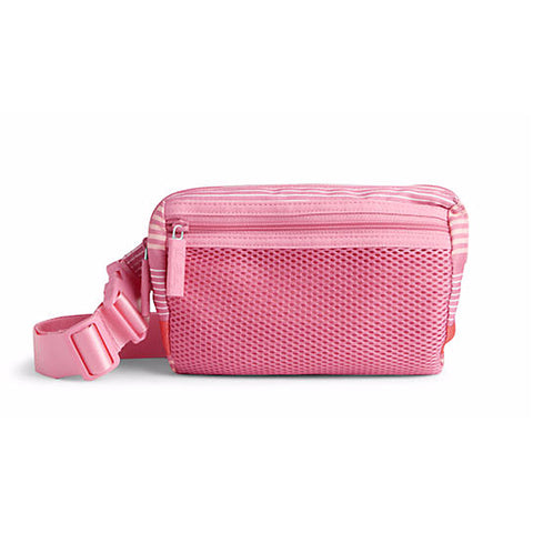Vera Bradley Lighten Up Belt Bag Pink Tonal Stripe