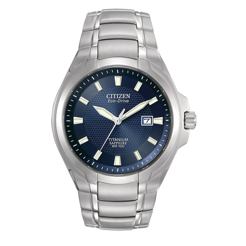Citizen Men's Eco-DRV Super Titanium Sapphire Watch