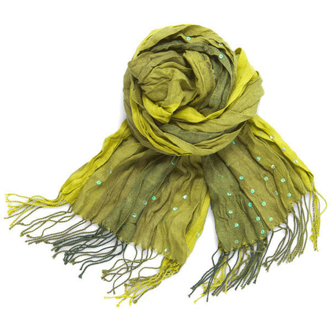 Lindsay Phillips Bristol Green Ombre Scarf