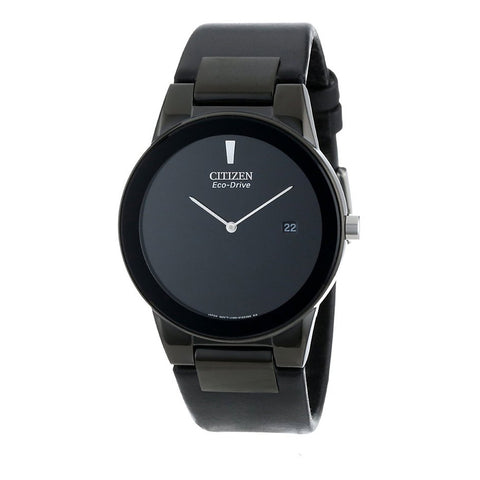 Citizen Men's Axiom Watch with Black Leather Strap