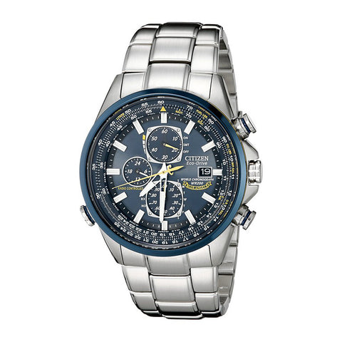 Citizen Men's Eco-DRV Blue Angels Stainless Steel Dress Watch