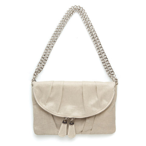 Lindsay Phillips Coral Gables 5 in 1 Bag Neutral Canvas