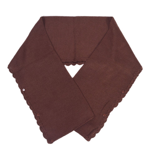 Lindsay Phillips Delray Brown Scarf