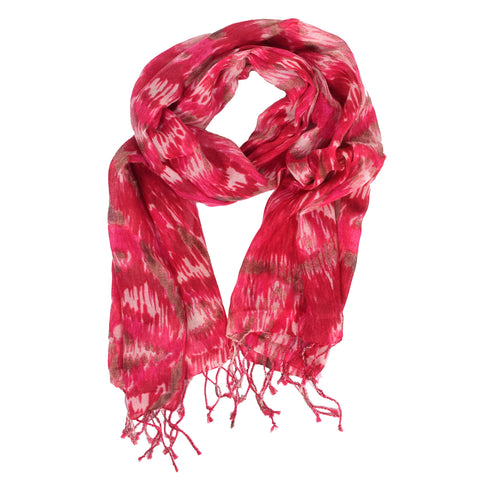 Lindsay Phillips Edgewater Pink Scarf