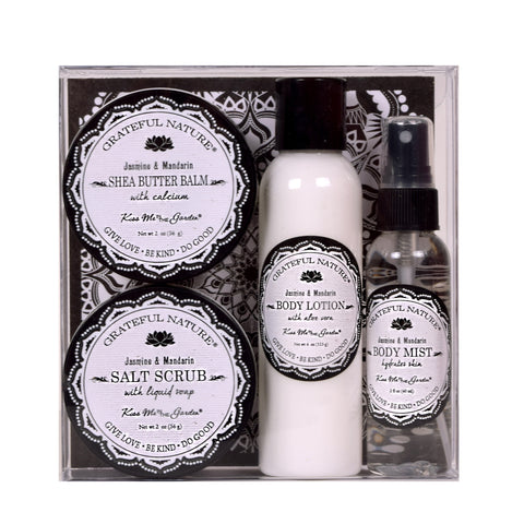 Kiss Me In The Garden Grateful Nature 4pc Gift Set