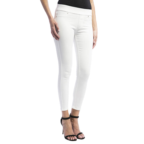 Liverpool Jeans Women's Sienna Ankle Pull-On Jean Bright White