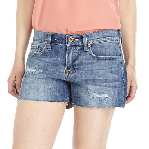 Lucky Brand Drop Pocket Cut Off Short Coral Springs Wash