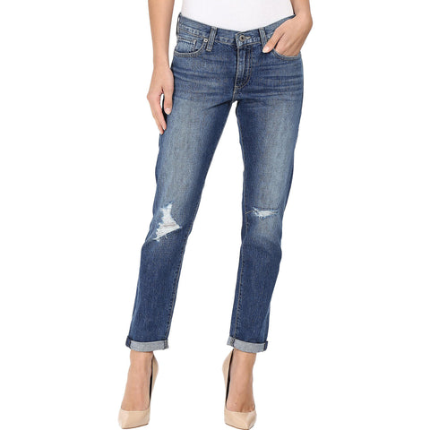 Lucky Brand Sienna Slim Boyfriend Jean Alamo Heights Wash