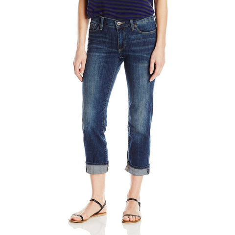 Lucky Brand Sweet Crop Northwestern Indigo Wash