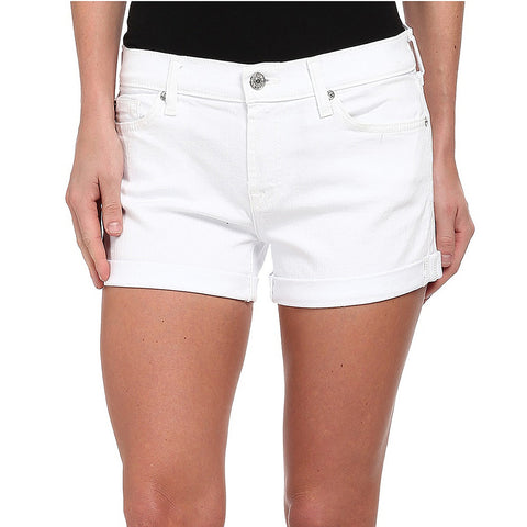 Lucky Brand The Rollup Short Clean White Wash