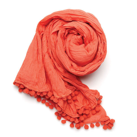 Lindsay Phillips Miramar Coral Scarf