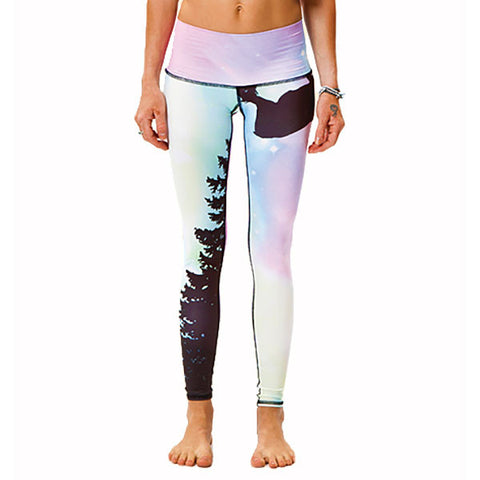 Teeki Yoga Hot Pant  Northern Lights