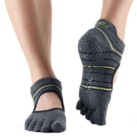 ToeSox Women's Grip Full Toe Bellarina - Spring 2018 Collection