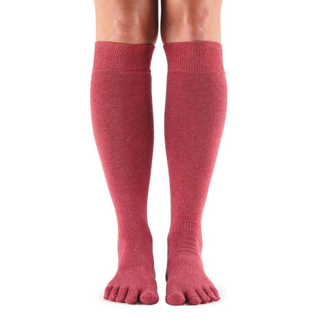 Toesox Casual Full Toe Knee High Socks