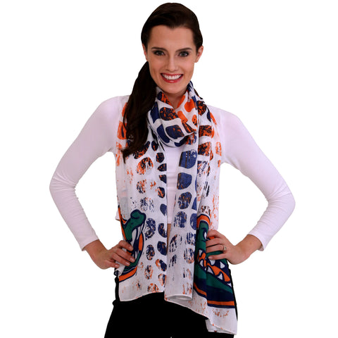 Emerson Street Clothing Co. Women's Animal Print Scarf Florida