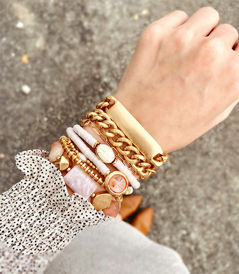 Trendy bracelet stacks