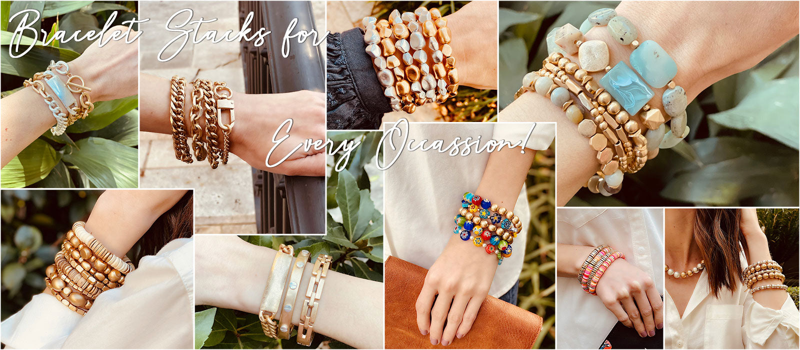 Bracelet Stacks for Every Occassion