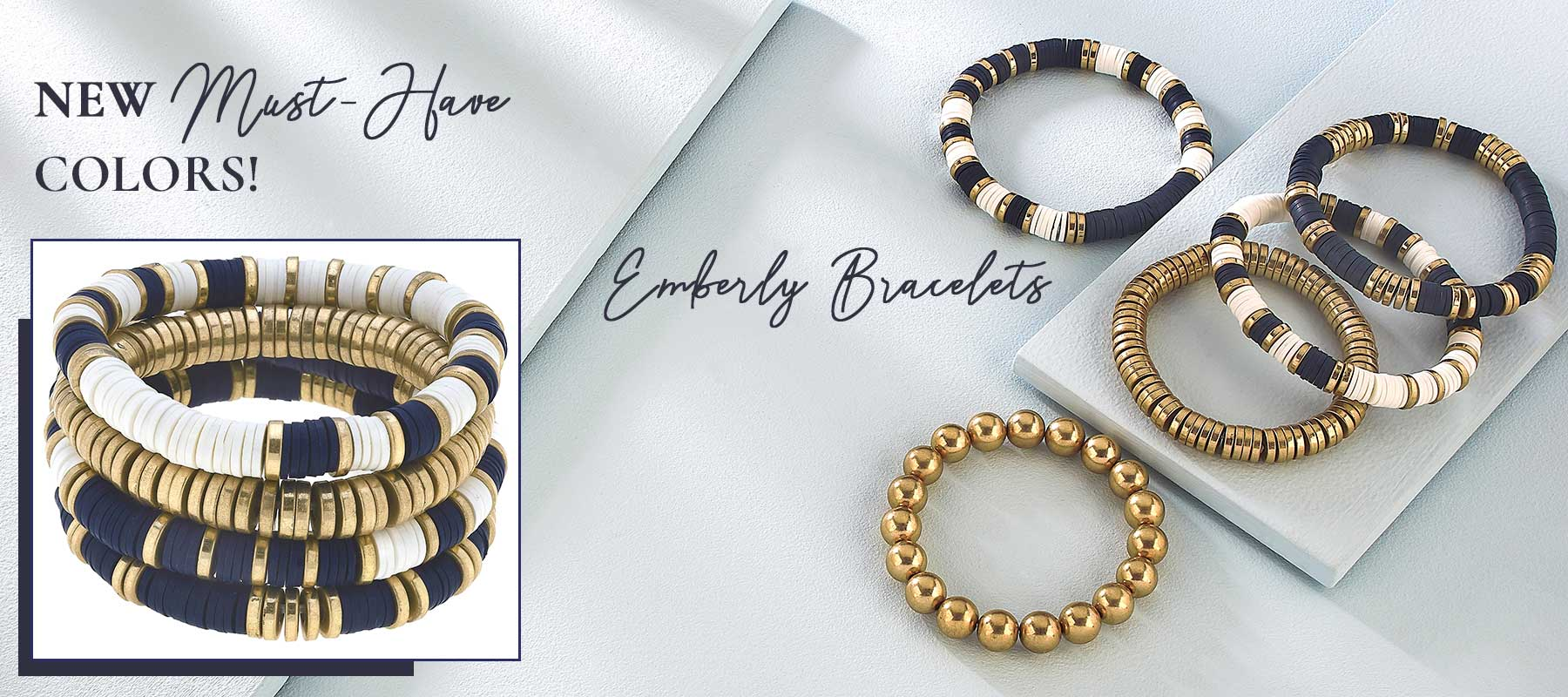 New, Must-Have Colors for Emberly Bracelets!