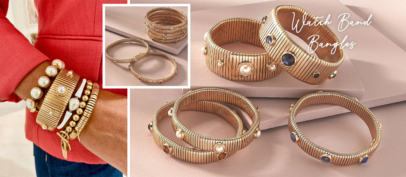 Watch Band Bangles