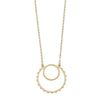 Josie Pendant Necklace in Ivory Pearl