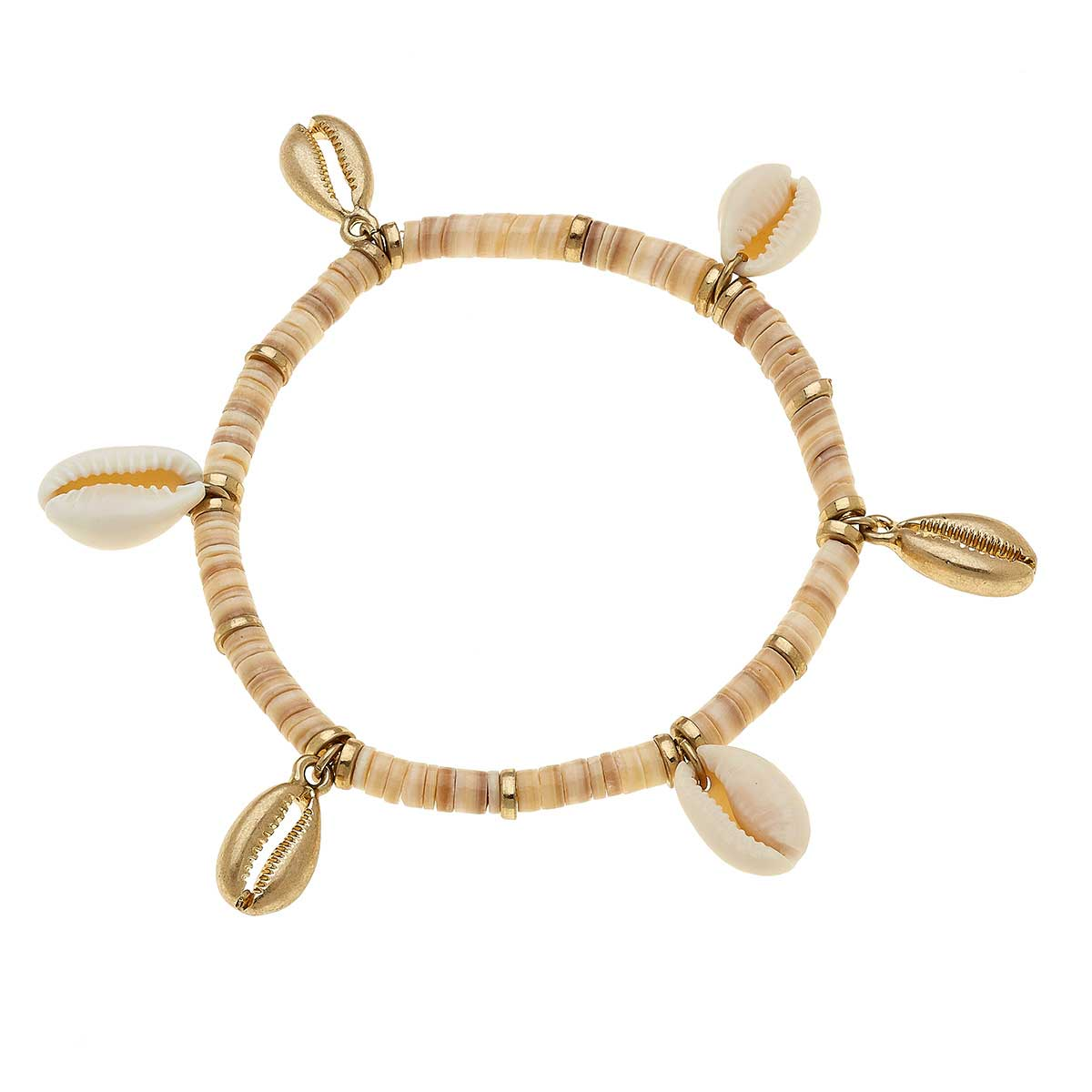 Beachcomber Shell Bracelet in Neutral
