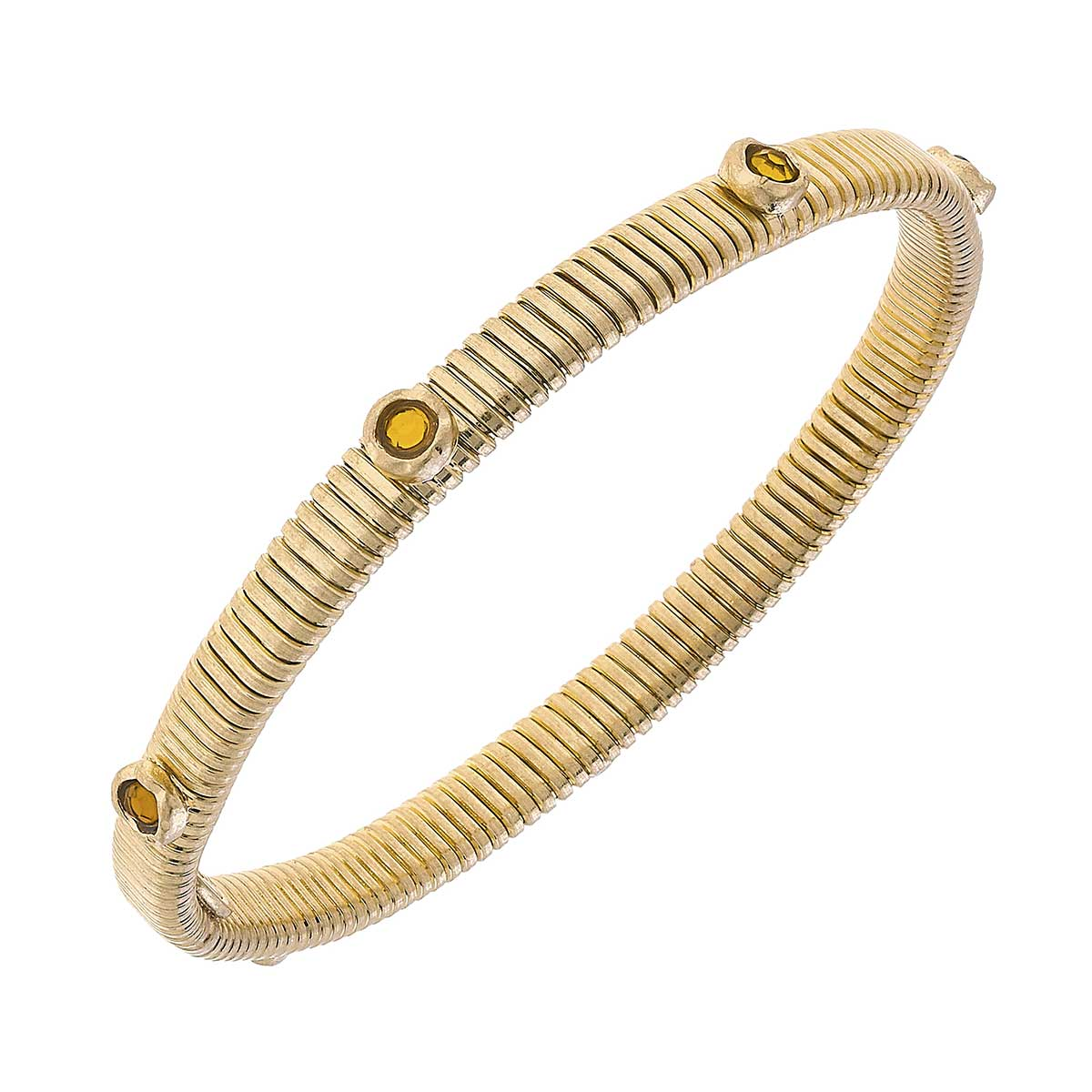 Florence Skinny Watch Band Bangle in Topaz
