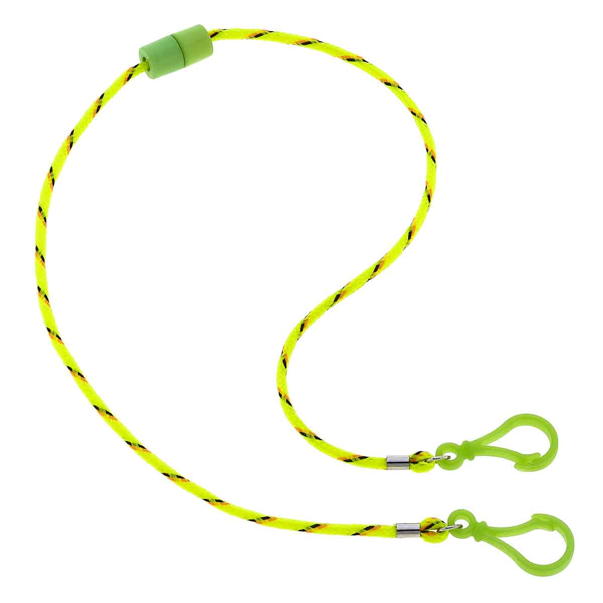 Taylor Children's Break-a-Way Cord Mask Lanyard in Yellow - 20""