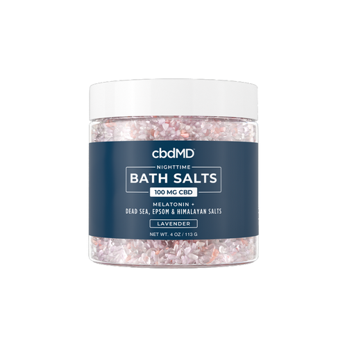CBD Bath Salts - Sleep - 100mg - 4 oz