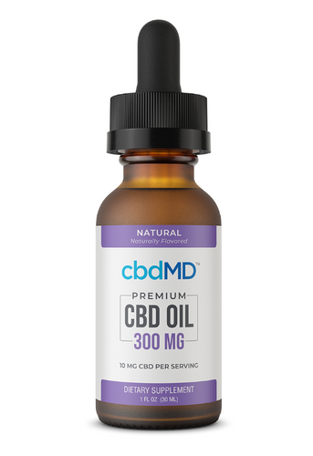 CBD Oil Tincture - 300 mg - 30 mL