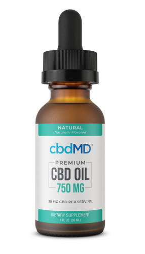 CBD Oil Tincture - 750 mg - 30 mL