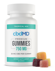 CBD Gummies - 750 mg - 30 Count