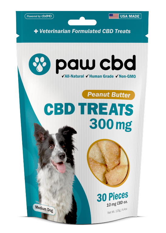 Pet CBD Oil Treats for Dogs - 300 mg - 30 Count