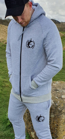 Original Logo Hoodie | Grey - Wellness Wonders of the World