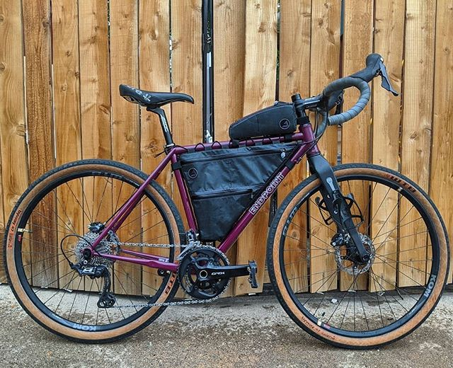 Bikepacking Steel Frame