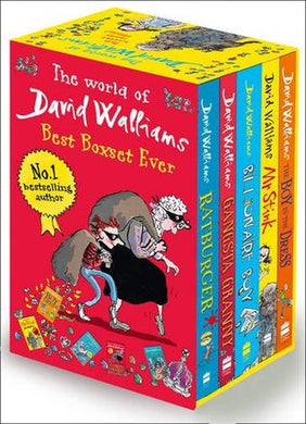 The World of David Walliams: 6 Book Collection: Demon Dentist/ Gangsta Granny / Ratburger / Mr Stink / Billionaire Boy / The Boy in the Dress